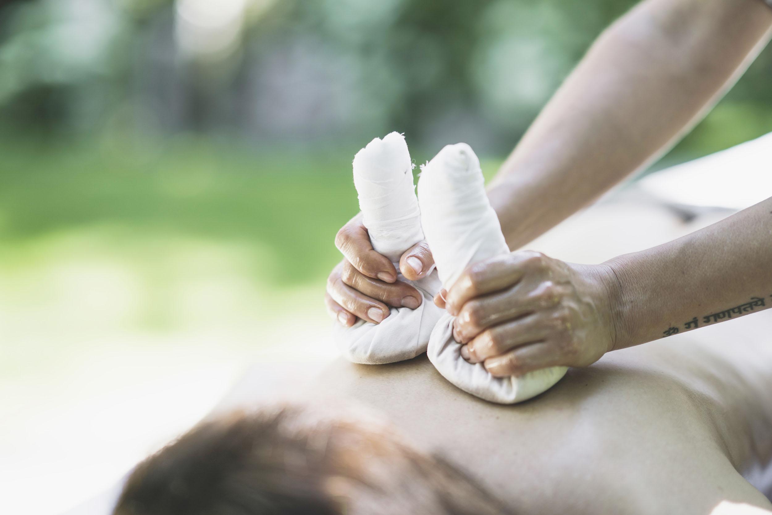 Ganzheitliche Massagen Hotel LA VIMEA Südtirol